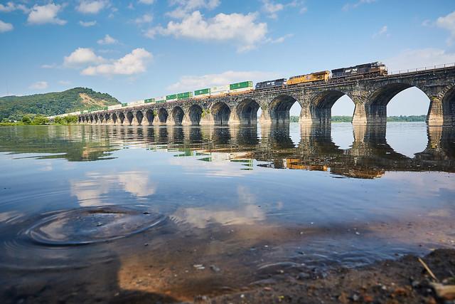 Rockville Bridge Reflections