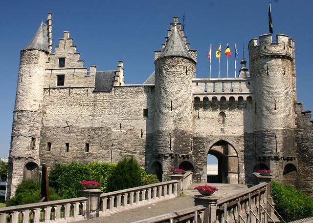 The Steen, medival fortress, Antwerp