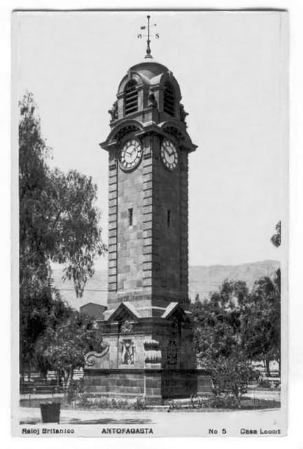 En De Británico Plaza La Reloj Colón AntofagastaChileA…Flickr Ybf67gy