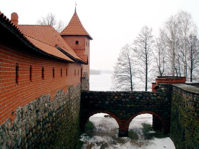 The castle at Trakai