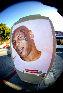 Mike Tyson X Supreme Spotted This Earlier Today On Fairfax Flickr