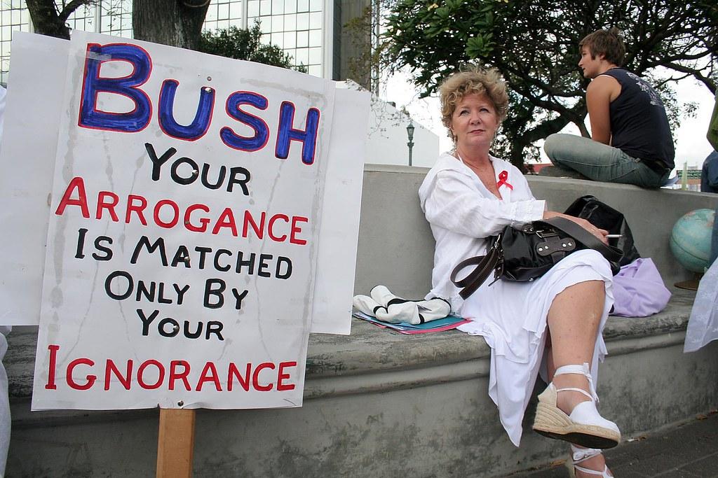 Protesta contra guerra Irak