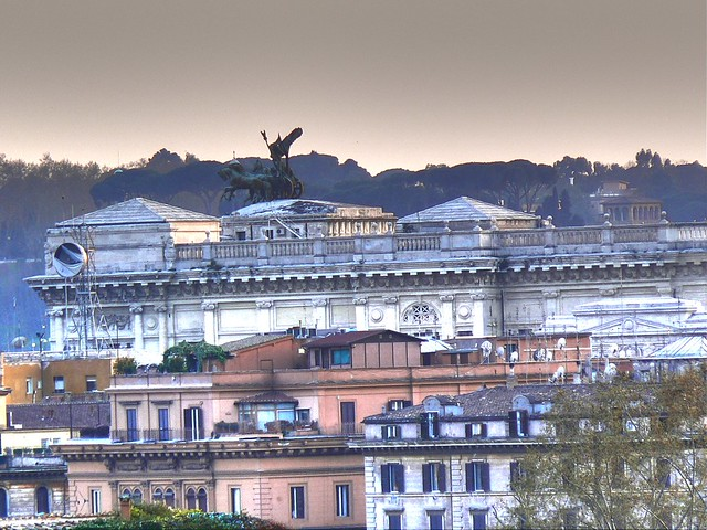 Sunset Rome - HDR