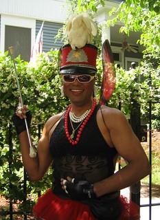 Baton Bob - Grand Marshall of the Inman Park Parade