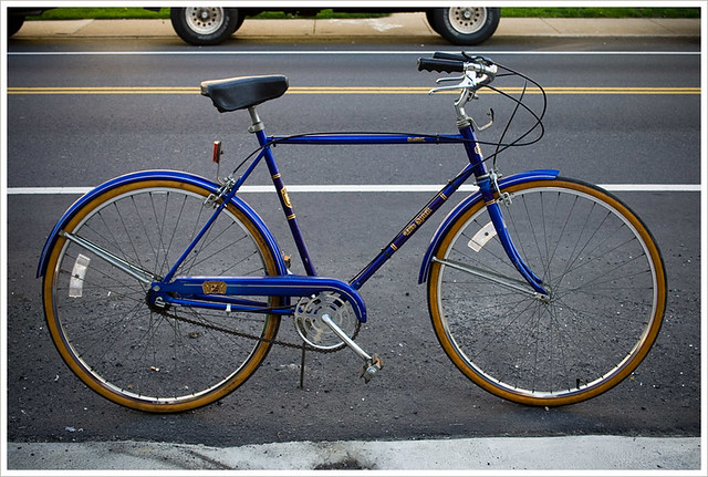 the new old blue bike | I found this bike, a 1985 Sears Free