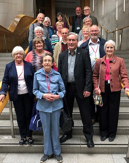 Welcoming University of the 3rd Age group to Holyrood | by Iain Gray MSP