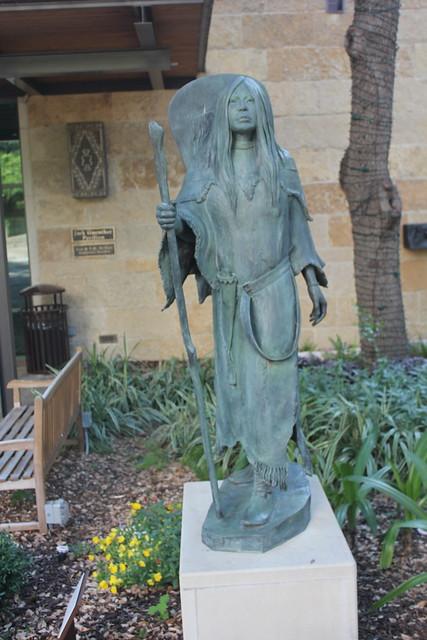 San Antonio - Downtown: Briscoe Western Museum - Bird Woman