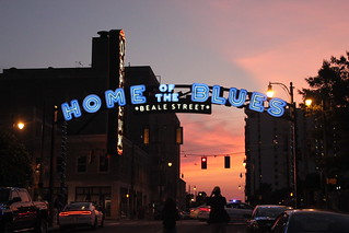 Fourth of July on Beale St. Memphis, Tennessee