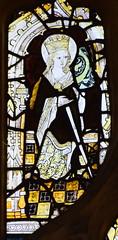 St Catherine (15th Century, restored)