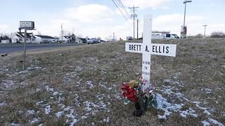 Roadside Memorial for Brett A. Ellis (2 of 3)