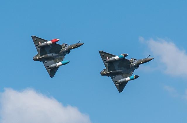 Patrouille Couteau Delta, Mirage 2000 D, meeting