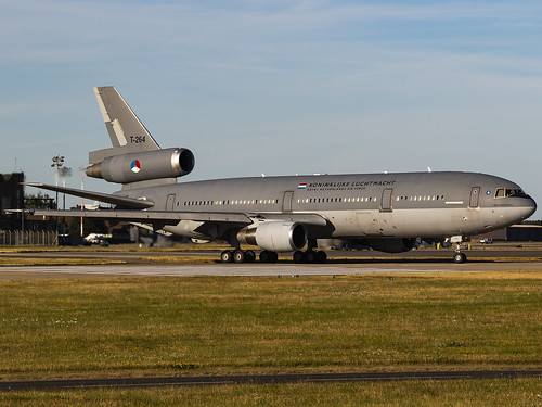 Royal Netherlands Air Force   McDonnell Douglas KDC-10-30CF   T-264   by MTV Aviation Photography