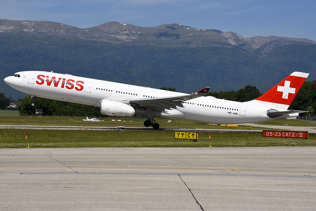 Swiss International A330-343 HB-JHE