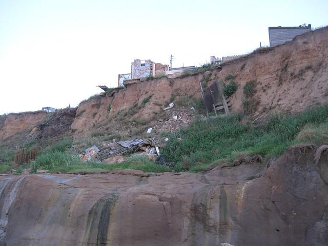 Erosion at Happisburgh