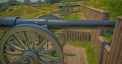 30-Pound Parrott Rifles at Fort Stevens