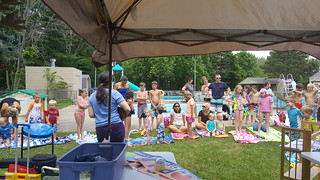 Pop-Up Library at Maplewood Pool
