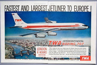 TWA_Faster and Largest Jetliner to Europe 707_Oct 1959-1 | by photoJDL