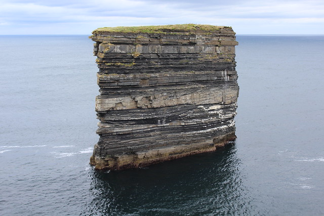 Dun Briste sea stack, Downpatrick Head, Co Mayo, Ireland