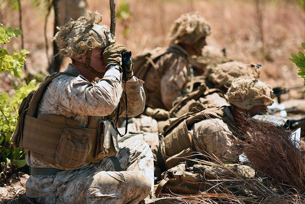 Marine Rotational Force - Darwin 2018 conducts indirect fi