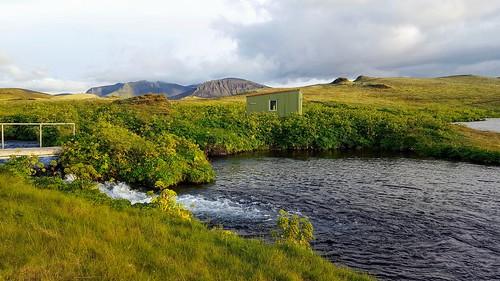 Við Slýdrátt í Veiðivötnum