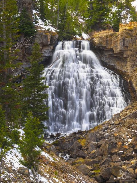 Rustic Falls in Spring