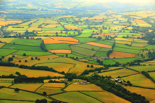 countryside fields hedges hedgerows farms homesteads wales welshcountryside talgarth patchwork