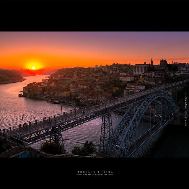 Sunset on Porto