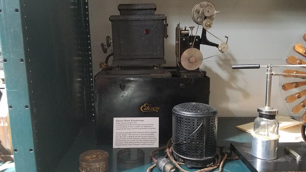 Edison Kinetoscope | Thomas Edison Kinetoscope Projector Mod