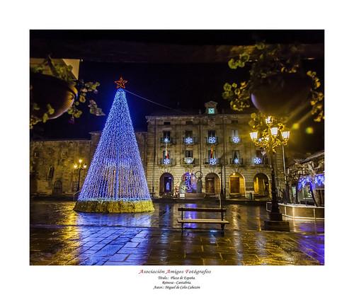 21 Miguel de Celis Cabezón - Plaza del ayuntamiento. | by Asociación Amigos Fotografos