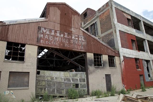 Miller Machine Shop - Packard Plant Complex
