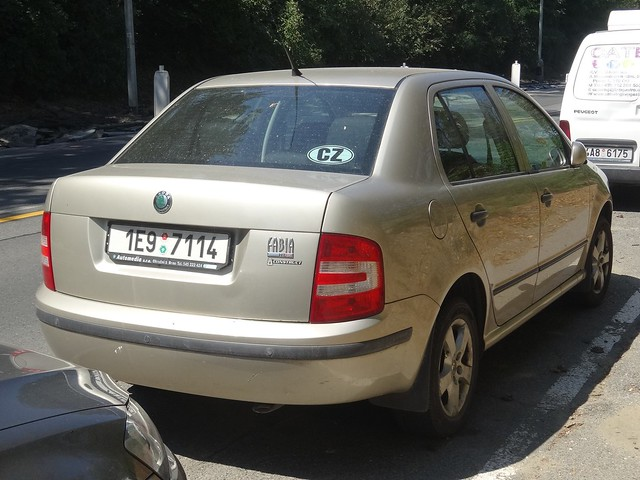 2005 Škoda Fabia Sedan