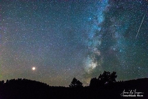 mars milkyway sky night stars astrophotography meteors nature lanscapes comet colorado rockymountains jamesinsogna photography unitedstates