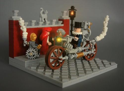 The Aristocrat II - steampunk motorcycle