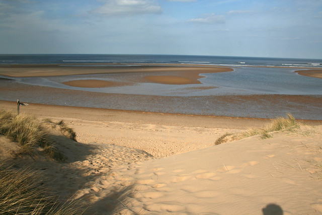 The beach near Holkham, Norfolk