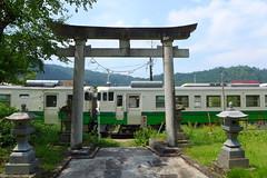 町名の由来となった三島神社が 町の中心にある