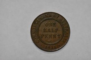 1938 Australia Half Penny