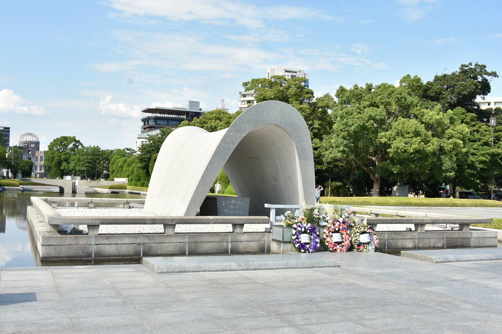 Hiroshima - Cénotaphe de la paix