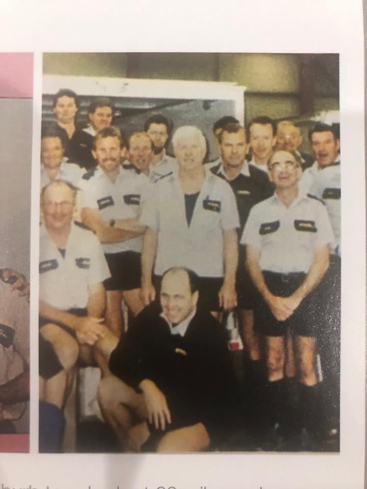 Workmates at IPEC Transport 1990 at Villawood Nsw.