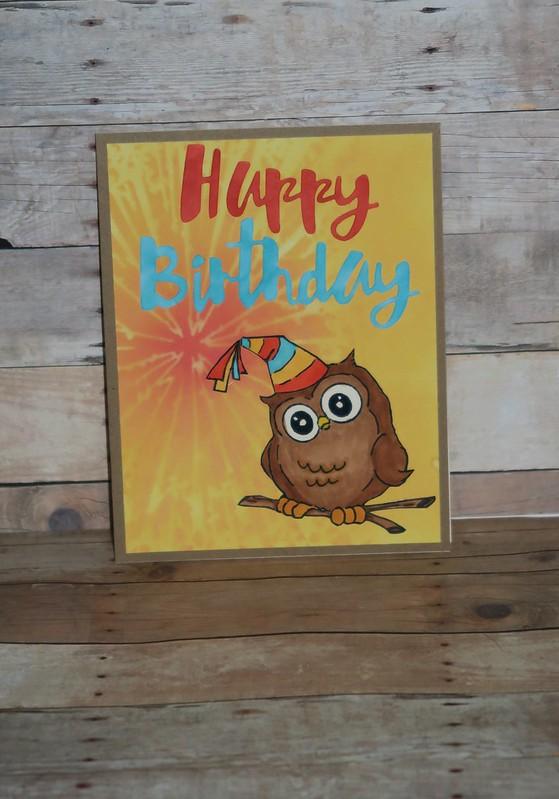 Art Impressions Owl