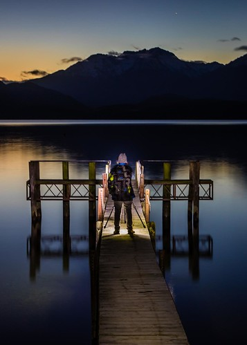 Marcia Standing On Jetty Te Anau-4 | by Quick Shot Photos