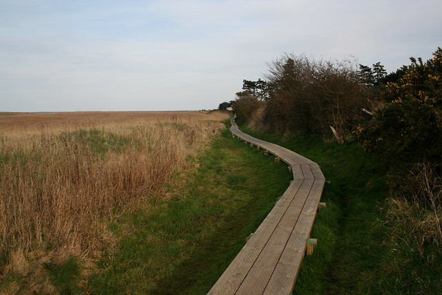 The Norfolk Coast path