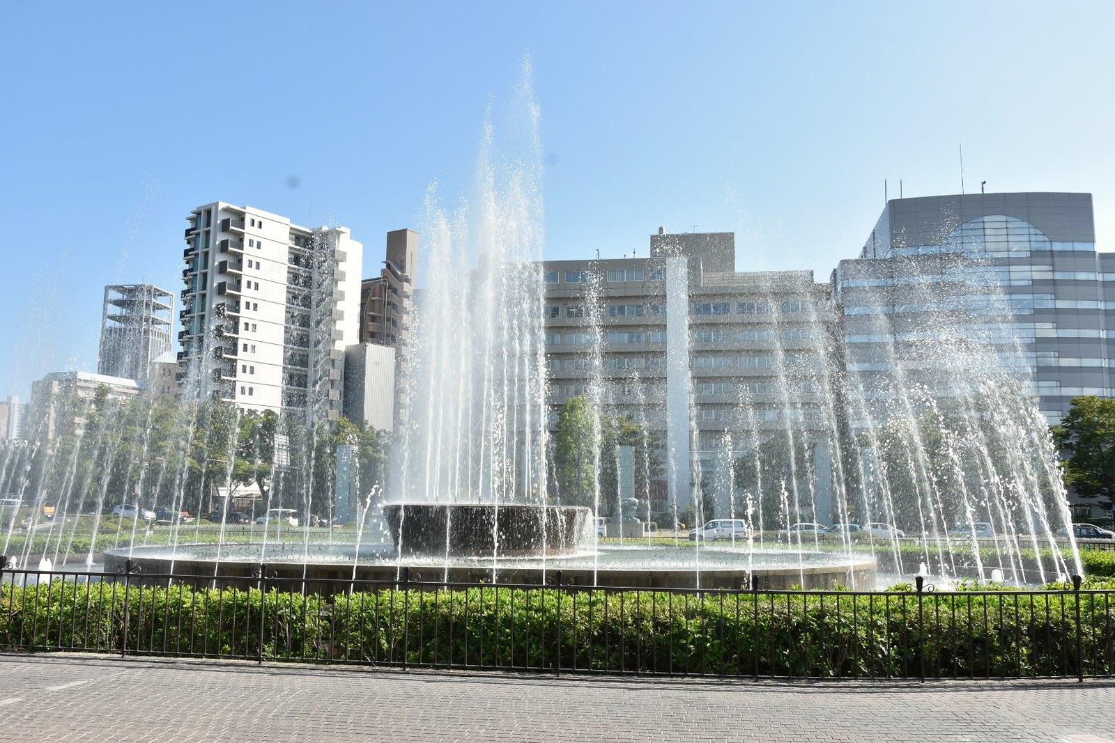 Hiroshima - Fontaine des prières