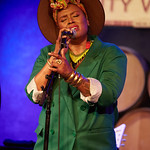 Mon, 09/07/2018 - 8:56pm - Deva Mahal and her band at City Winery in New York City, 7/9/18. Hosted by Rita Houston. Photo by Gus Philippas/WFUV