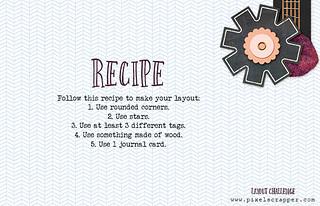 LC 21 recipe | by Pixel Scrapper