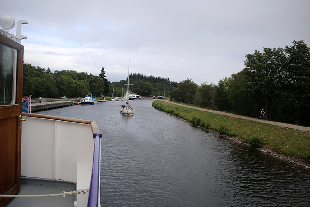 The Caledonian Canal at Dochgarroch