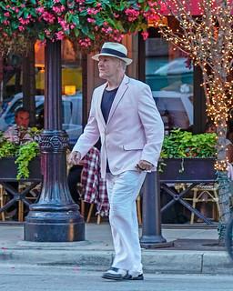 Pink Seersucker Jacket Spectator Shoes Panama Hat Flickr