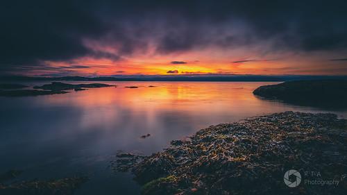 torbay devon sunrise oystercove paignton seascape rtaphotography nikon d750 sky clouds colour nature outdoors rocks lowtide atmospheric dawn nikkor1835 ndfilter longexposure nikkor
