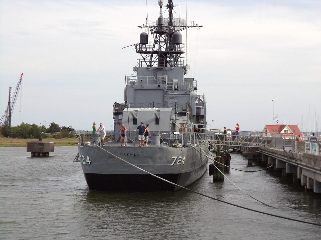 USS Laffey (DD-724) | Though the Fletcher-class destroyers p