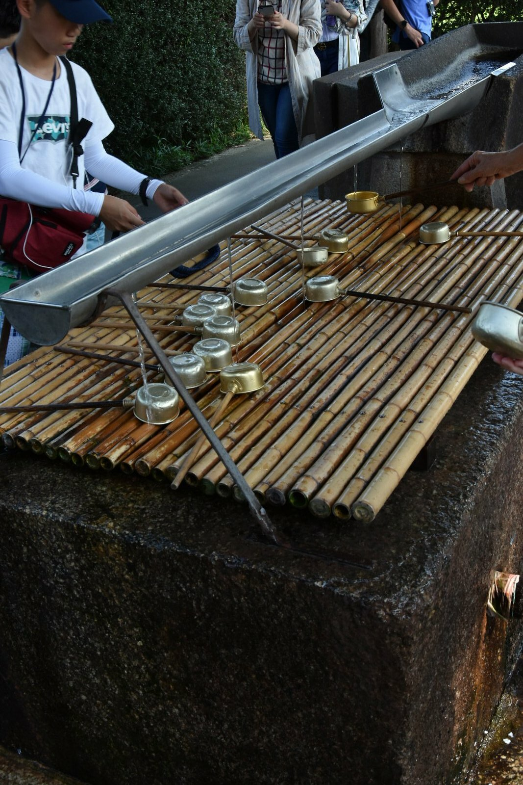Nara - Todai-ji - ne pas oublier les ablutions