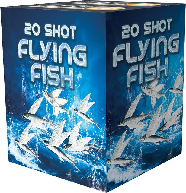 Flying Fish 20 Shot Barrage